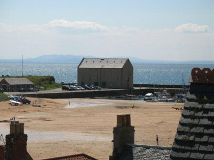 View from the top of Elie Bed and Breakfast